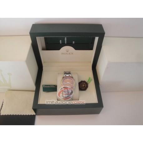 rolex replica pearlmaster white gold red yellow bezel orologio copia imitazione