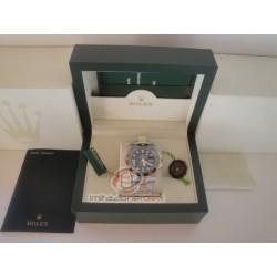 rolex replica GMT master II ceramichon acciaio oro black dial orologio copia imitazione