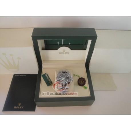 rolex replica GMT master II ceramichon new basilea rosso blu orologio copia imitazione