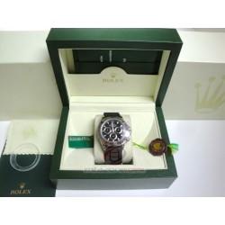 rolex replica daytona acciaio classico quadrante nero cordura orologio copia imitazione