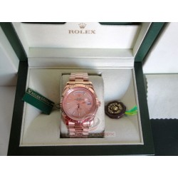 rolex replica day-date full rose gold orologio copia imitazione
