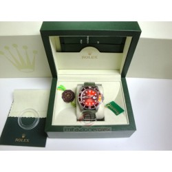 rolex replica submariner ceramichon cordura red edition orologio copia imitazione