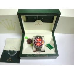 rolex replica submariner ceramichon cordura red edition orologio copia imitazione