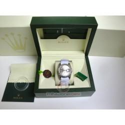 rolex replica datejust acciaio cordura white argentèè roman orologio copia imitazione