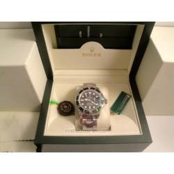 rolex replica submariner ghiera verde 50th anniversary orologio copia imitazione