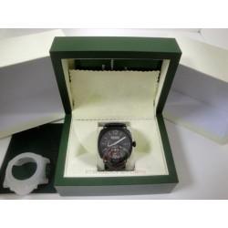 panerai replica luminor marina 8 days black dial PVD prohunter strip leather