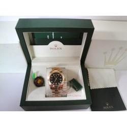rolex replica day-date oro giallo black dial orologio copia imitazione