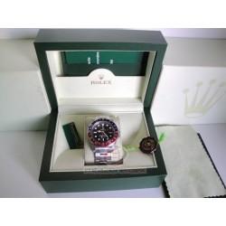 rolex replica GMT master II vintage rosso blu orologio copia imitazione