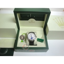 rolex replica cellini moonphase strip leather orologio copia imitazione