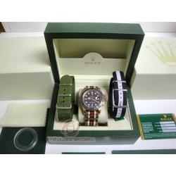 rolex replica yacht master I rose gold cordura by gucci orologio copia imitazione