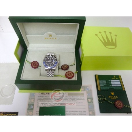 rolex replica GMT master II blue nero BLNR ceramichon jubilèè bracialet orologio copia imitazione