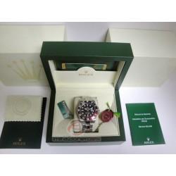 rolex replica GMT master II rosso nero ceramichon orologio copia imitazione