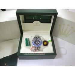 rolex replica GMT master II blue nero BLNR ceramichon orologio copia imitazione