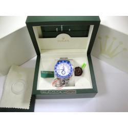 rolex replica yacht master II regatta ceramichon blue bezel orologio copia imitazione