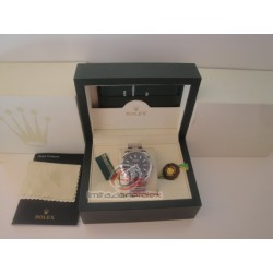rolex replica milgauss black dial green sapphire orologio copia imitazione