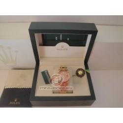 rolex replica pearlmaster oro giallo red yellow bezel orologio copia imitazione